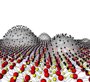 Flattening van der Waals heterostructure interfaces by local thermal treatment